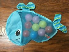 Infantino Ball Belly Stick & Store Whale Baby Bath Toy