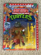 1992 TMNT Ninja Turtles Mutant Military Dimwit Doughboy Rocksteady MOC Sealed