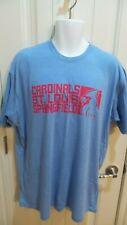 Springfield Cardinals Baby Blue Super Soft T-Shirt, Size XL SGA 6/9/2019