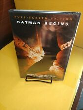Batman Begins (Dvd, 2005,Widescreen)Brand New(Sealed)Free Shipping with Tracking