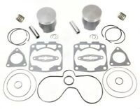 2003 2004 2005 Polaris 800 RMK SPI Pistons Bearings Top End Gasket Kit Std 85mm