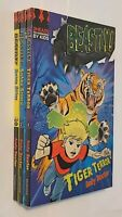 Andy Baxter 3 Books Beastly Series Tiger Terror Shark Shock Snake Scare Fun New