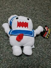 """With Tag - Ghostbusters Domo Stay Puft Marshmallow Man Plush 11"""" Kellytoy 2015"""