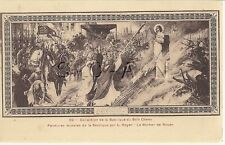 French Artist Drawn PC-  Joan of Arc- Jeanne d Arc- Martyr- Burned- 1906-1915