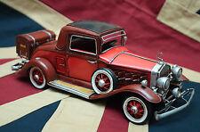 tin toy tinplate car blechmodell auto vintage handmade metal MERCEDES model