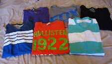 Mens size Small t-shirt Lot Hollister/Fox/American Eagle/Old Navy