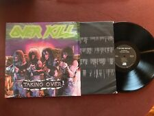 Overkill - Taking Over - 1987 vinyl LP in as new condition USA Megaforce