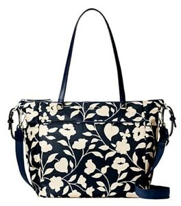New Kate Spade New York Jae Garden Vine Baby Bag handbag Nightcap multi