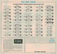 1963 FORD Brochure: FALCON FUTURA,FAIRLANE,GALAXIE 500,THUNDERBIRD,Station Wagon