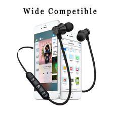 Écouteur Magnétique Sans Fil Bluetooth Stéréo Sport Étanche Universel Noir Micro
