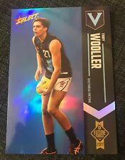 2017 AFL FUTURE FORCE Blue Parallel Card TOBY WOOLLER Brisbane #88 036/110