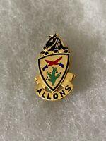 Authentic US Army 11th Cavalry Regiment DI DUI Unit Crest Insignia G23