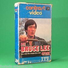 Die Bruce Lee Story Betamax Contrast Video  #ag456