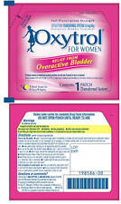 8 OXYTROL Pads 32 Days OTC Bladder Leakage Control Skin Patch Diabetic OAB 3/15