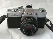 Minolta SRT100X Cámara De Cine & Minolta 45mm F2 Lente Panqueque-excelente-casi Nuevo