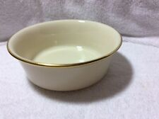 Lenox Eternal Set Of 4 Individual Salad Bowls  Cream Color With Gold Trim