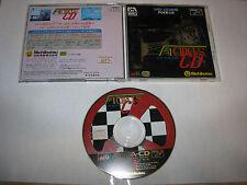 F1 Circus CD Sega Mega CD Mega Drive Japan import