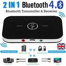 More details for bluetooth 5.0 wireless receiver transmitter hifi rca to 3.5mm aux audio adapter