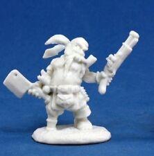 Reaper Bones 77133 Gruff Grimecleaver Dwarf Pirate