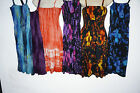 Dress Sun dress beach Tie dye Hippie Comfy Boho Gypsy Rainbow one size 8-16