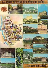 La route des vins des Côtes du Rhône