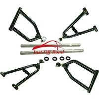Stainless Sport Extended A-Arms set FOR 1991-06 Yamaha Banshee 350 YFZ350 +2 +1