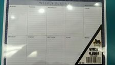 A4 WEEKLY PLANNER / JOB LIST PAD / MAGNETIC TEAR OFF TOP QUALITY AUSTRALIAN MADE