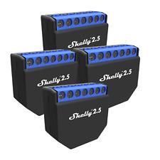 4er-Set Shelly 2.5 inklusive deutscher Bedienungsanleitung