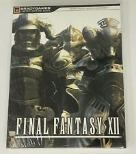 PS2 Final Fantasy XII New Sealed Limited Edition Collector's Strategy Guide