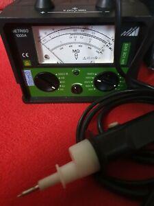 Gossen Metrawatt Isolations-Messgerät METRISO 1000A Isolationsmessgeräte M540C