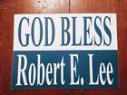 """God Bless Robert E. Lee"" bumper sticker - Civil War - Confederate"