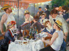 The Luncheon Of The Boating Party Pierre Auguste Renoir Fine Art Print on CANVAS