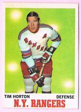1970-71 70-71 O-PEE-CHEE OPC #59 Tim Horton SET BREAK