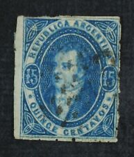CKStamps: Argentina Stamps Collection Scott#13 Used Thin