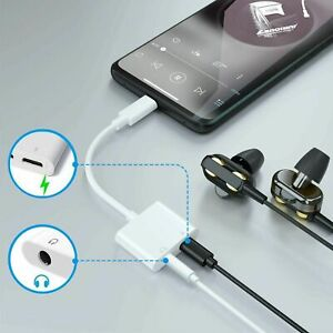 USB-C Type C To 3.5mm Audio Aux Headphone Jack Cable Adapter For Samsung Note20