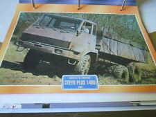 Super Trucks Baustellen LKW Österreich Steyr Plus 1400, 1990