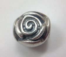 Pandora Rose Petal Sterling Silver Charm Retired Style # 790394 Authentic ALE