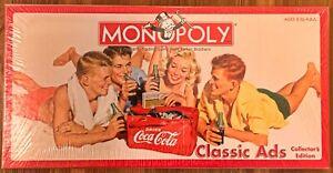 Monopoly Coca-Cola Classic Ads Col. Ed. / USAopoly / RARE / Sealed / BRAND NEW!