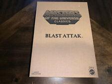 Masters of the Universe Classics BLAST ATTAK Snake Men Figure MOTU