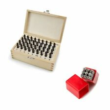 36 PCS Letter and Number Stamp Set with 9 PCS Punctuation Stamp Set, 5/32 Inch