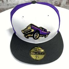 NEW ERA Fresno Grizzlies LOWRIDERS 59FIFTY size 7 3/8 fitted cap hat MiLB