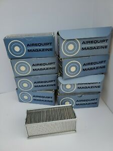 """Lot of 8 Airequipt Argus Kodak 2""""x 2"""" Automatic Slide Magazines and slides italy"""