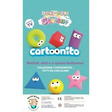 DOKI DOKI SQUISHY CARTOONITO - 6 BUSTINE - COLLEZIONE COMPLETA