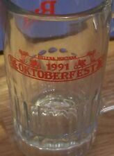 "Vintage 1991 Budweiser Octoberfest ""MUG""HELENA MONTANA NM Rare"