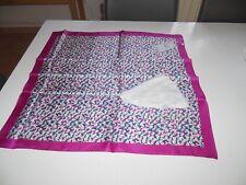 foulard carré COMPTOIR DES COTONNIERS 100% soie NEUF