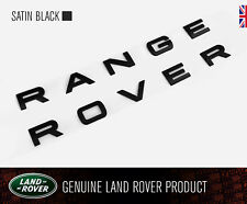RANGE ROVER SPORT L494 satin black bonnet or tailgate boot letters badge GENUINE