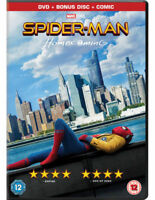 SpiderMan - Homecoming DVD ( Limited Edition Comic )