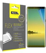 3x Samsung Galaxy Note 8 Schutzfolie Folie, 100% Displayabdeckung, dipos Flex
