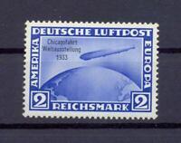 DR 497 Zeppelin Chicagofahrt 2 RM postfrisch (ts66)