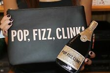 NWT Kate Spade POP, FIZZ, CLINK! Champagne Coin Purse AND Gia Clutch Pouch SET